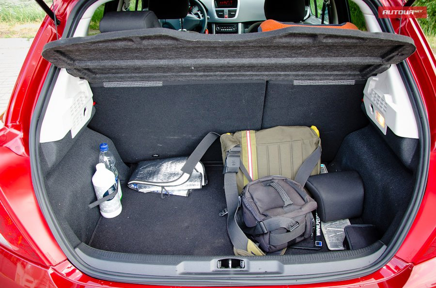 peugeot 207 2007 багажник